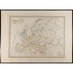 1846 - Carte de l'Europe...