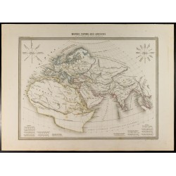 1846 - Monde connu des anciens