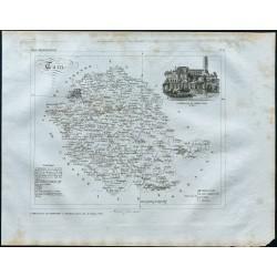 1830 - Carte ancienne du Tarn