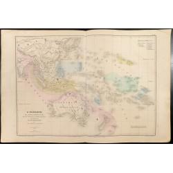1860 - Carte de l'Océanie &...