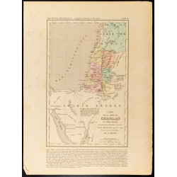1859 - Carte de la Terre de...