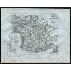 1830 - Carte de France...