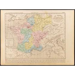 1859 - Carte de France sous...