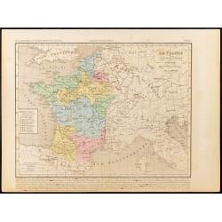 1859 - Carte de France des...