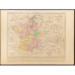 1859 - Carte de France...