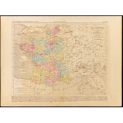 1859 - Carte de la France...