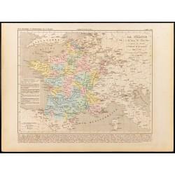 1859 - Carte de France à la...