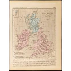 1859 - Carte du Royaume de...