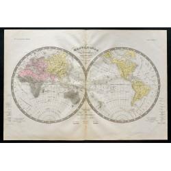 1838 - Mappemonde et...