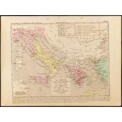 1859 - Carte de la Grèce et...