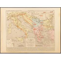 1859 - Carte ancienne de...