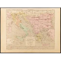 1859 - Carte de la Turquie,...