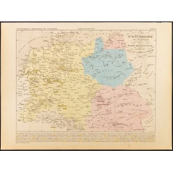 1859 - Carte de l'Empire...