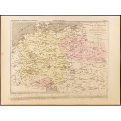 1859 - Carte de l'Allemagne...