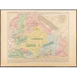 1859 - Carte de Russie,...