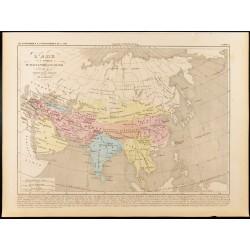 1859 - Carte de l'Asie sous...