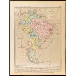 1859 - Carte de l'Amérique...