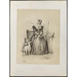 1859 - Portrait de Marie...