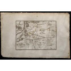 1833 - Plan de la bataille...
