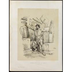 1859 - Samson renverse le...