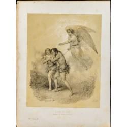 1859 - Adam et Ève chassés...