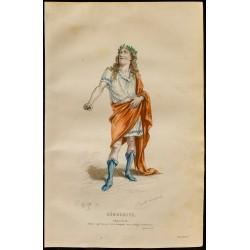 1875 - Portrait de Démocrite