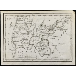 1830 - Ain - Carte ancienne...
