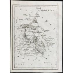 1830 - Ardennes - Carte...