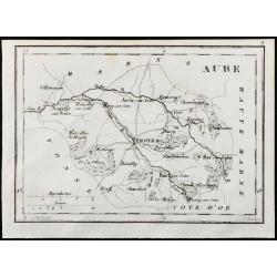 1830 - Aube - Carte...