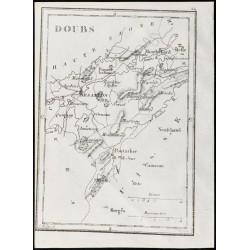 1830 - Doubs - Carte...