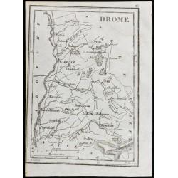 1830 - Drôme - Carte...