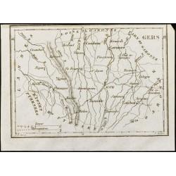 1830 - Gers - Carte...