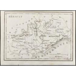 1830 - Hérault - Carte...
