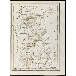 1830 - Jura - Carte...