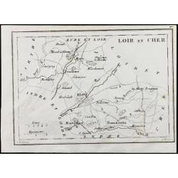 1830 - Loir et Cher - Carte...