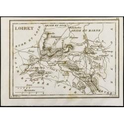 1830 - Loiret - Carte...