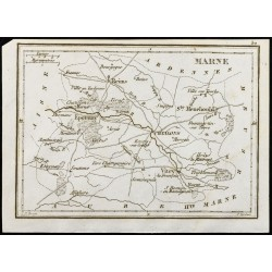 1830 - Marne - Carte...