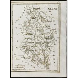 1830 - Meuse - Carte...