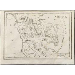1830 - Nièvre - Carte...