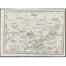 1830 - Oise - Carte...
