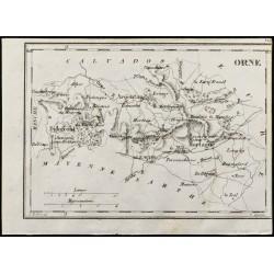 1830 - Orne - Carte...