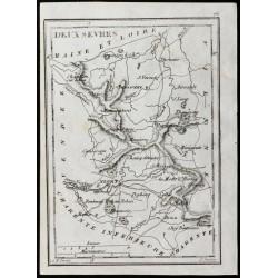 1830 - Deux Sèvres - Carte...