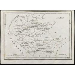 1830 - Tarn - Carte...