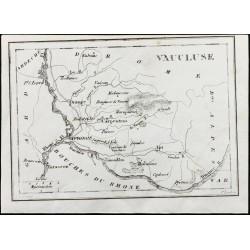1830 - Vaucluse - Carte...