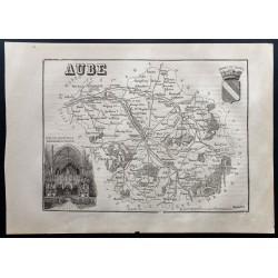 1867 - Département de l'Aube