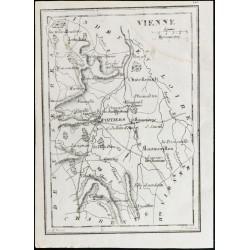 1830 - Vienne - Carte...