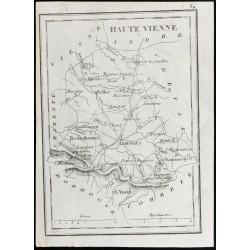 1830 - Haute-Vienne - Carte...