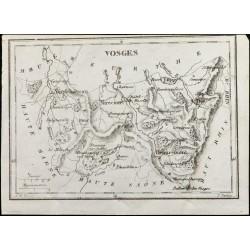 1830 - Vosges - Carte...