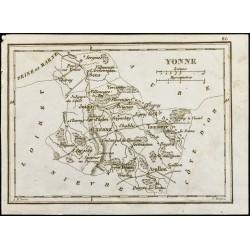 1830 - Yonne - Carte...