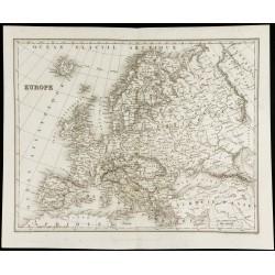 1842 - Carte ancienne de...
